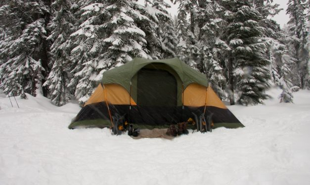 How to Stay Warm in a Tent During Winter