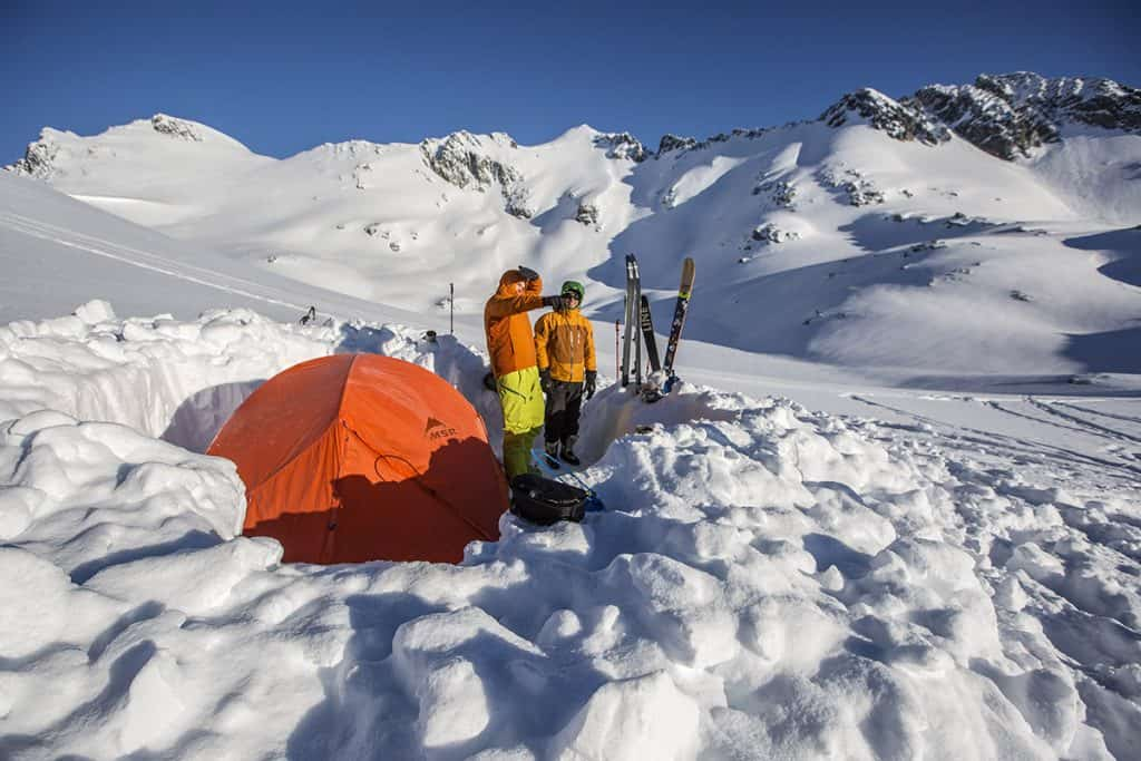 Tent wind breaker