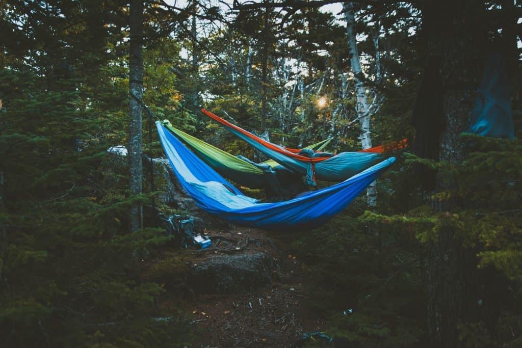 Multiple hammocks