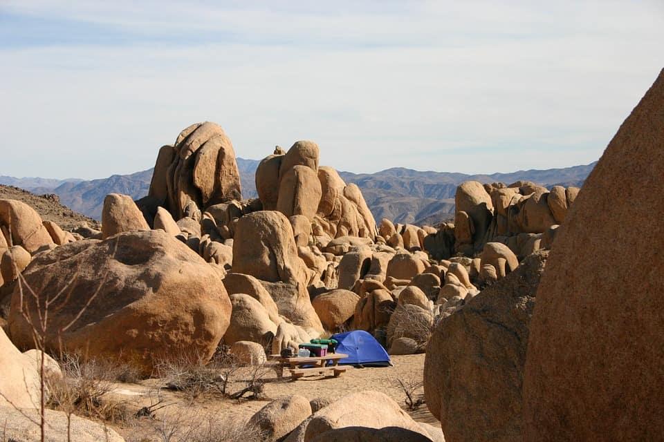 Joshua Tree - Jumbo Rocks Campgrounds