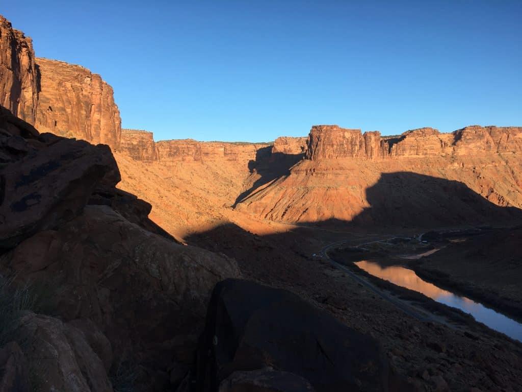 Overlooking Big Bend, River Road, Moab