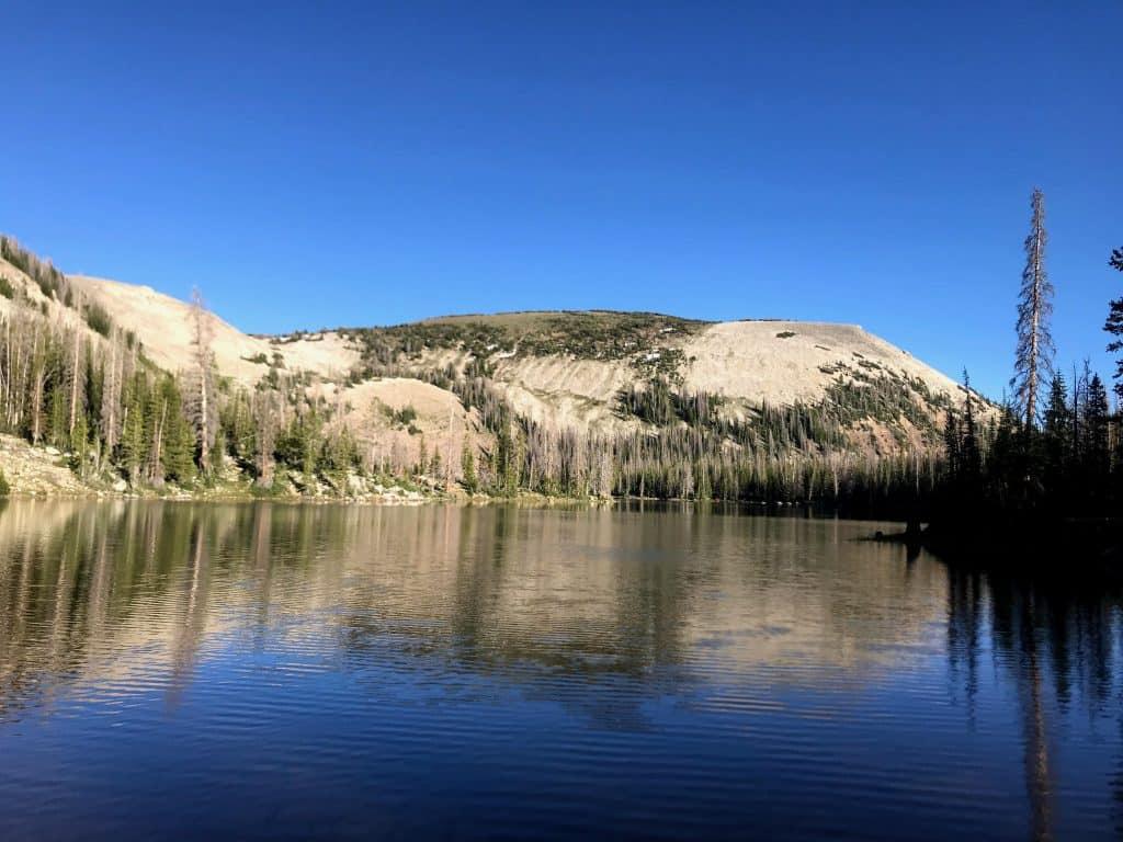 Cuberant Lake, Mirror Lake Highway, Uinta Mountains