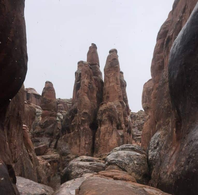 Towers in the snow, Fiery Furnace