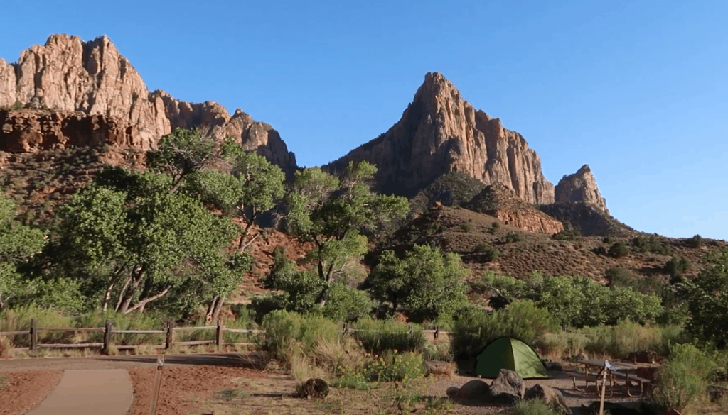 South Campground Zion